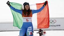 Sofia Goggia, 25 anni. Epa