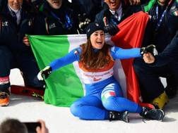 Sofia Goggia, 25 anni LAPRESSE
