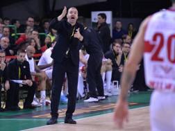 Simone Pianigiani, coach Olimpia CIAM/CAST