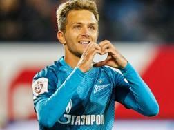 Domenico Criscito (31), settima stagione con la maglia dello Zenit San Pietroburgo. GETTY IMAGES