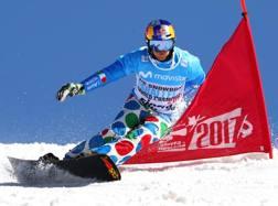 Roland Fischnaller, 37 anni, durante il Mondiale 2017 in Sierra Nevada. Getty