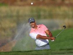Tiger Woods, 42 anni AFP