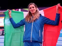 Alessia Trost sul podio di Birmingham. Colombo