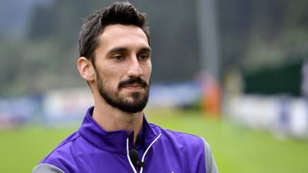 Davide Astori, capitano della Fiorentina morto oggi a Udine. Lapresse