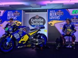 Morbidelli e Luthi alla presentazione del Team Estrella Galicia