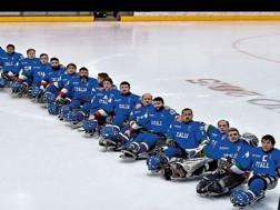 L'Italia del para ice hockey è una delle squadre favorite per il podio. Arch. Gazzetta