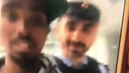 Un fotogramma del video di Farah