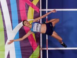 Maria Lasitskene, 25 anni, una delle russe al via ai Mondiali indoor da neutrale AFP