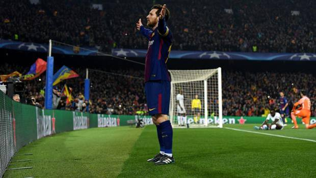 Messi gigante contro il Chelsea. Getty Images