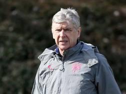 Arsene Wenger, 68 anni, allenatore dell'Arsenal. LaPresse
