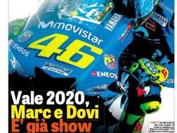 La copertina dello speciale sul Motomondiale 2018