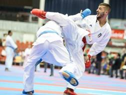 Luca Maresca in azione durante i Campionai Mondiali 2016