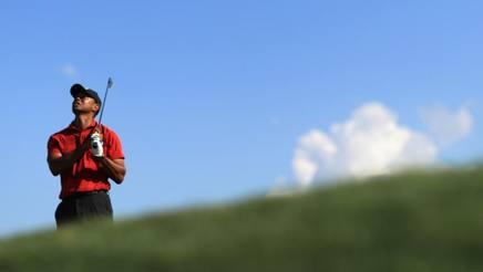 Tiger Woods, 42 anni. Afp