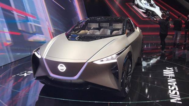 Schema Elettrico Nissan Qashqai : Elettrica e connessa nissan sempre avanti prove di futuro con