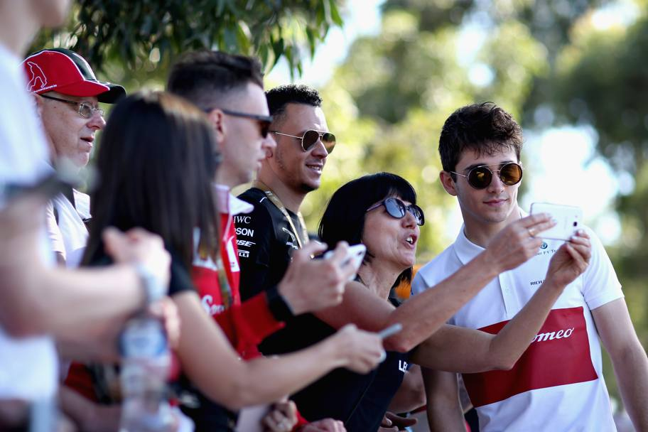 Charles Leclerc. Getty