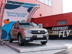 La serie speciale Wow della Dacia Sandero