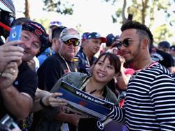 Lewis Hamilton sempre seguitissimo dai tifosi. Getty