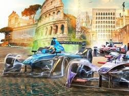 La locandina dell'E-Prix di Roma