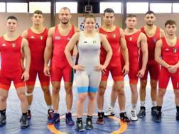 Parte della squadra azzurra in gara in Bulgaria dal 22 al 25 marzo