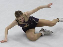 Carolina Kostner. Ap