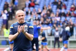 Conor O'Shea, c.t. Nazionale di Rugby. La Presse