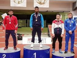 Frank Chamizo al primo posto nella 74 kg al torneo Kolov & Petrov di Sofia (Bul)