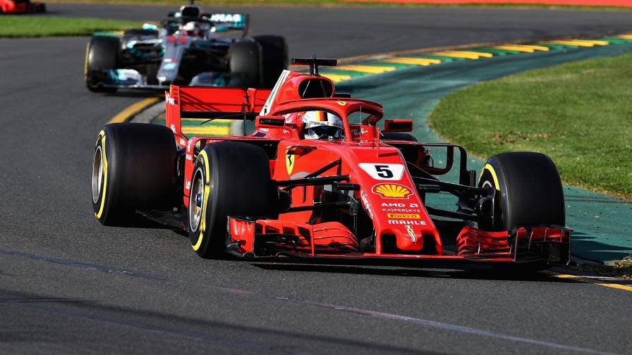 Festa Ferrari in Australia, trionfa Vettel! Hamilton battuto. Raikkonen 3°