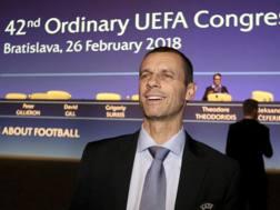 Aleksander Ceferin, presidente Uefa. Ap