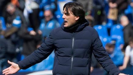 Vincenzo Montella, 43 anni, attuale tecnico del Siviglia. Afp