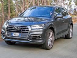 La nuova Audi Q5 in azione