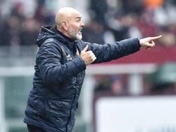 Stefano Pioli, prima stagione a Firenze. Ansa