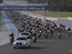 La parata di Ducati Monster al Paul Ricard