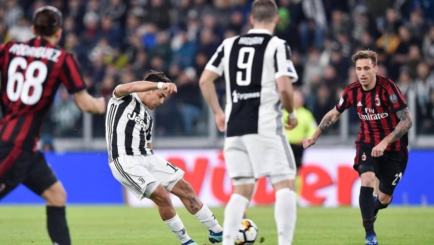 Juventus-Milan 3-1, il tabellino
