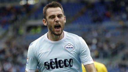Stefan de Vrij, 26 anni, difensore olandese della Lazio. Ap