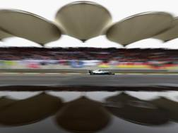 Un'immagine del circuito di Shanghai. Getty