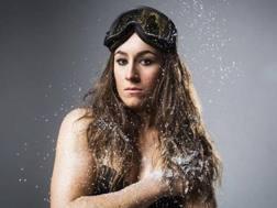 Sofia Goggia, 25 anni, campionessa d'oro olimpico di discesa libera