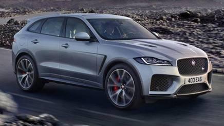 La nuova Jaguar F-Pace SVR