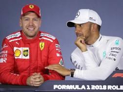 Vettel ha provocato Hamilton sul