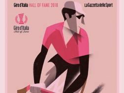 Miguel Indurain, oggi 53 anni, nella Hall of Fame del Giro d'Italia