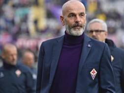 Il tecnico della Fiorentina, Stefano Pioli. Ansa