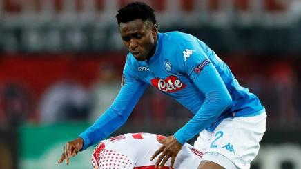 Amadou Diawara, centrocampista del Napoli. Epa