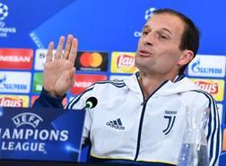 Il tecnico della Juve, Massimiliano Allegri. Ansa