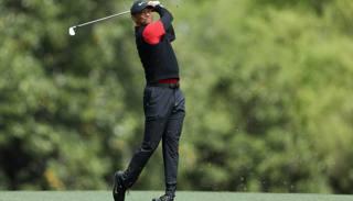 Tiger Woods,42 anni, ha vinto quattro volte il Masters AFP
