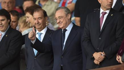 Il presidente del Real Madrid Florentino Perez, 71 anni.