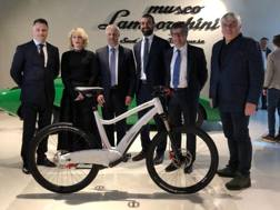 La nuova e-bike Lamborghini made by Italtechnology