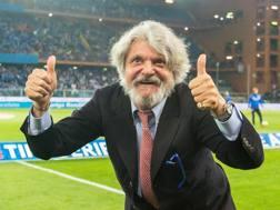 Massimo Ferrero. Ansa