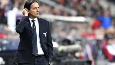 Il tecnico della Lazio Simone Inzaghi. Ap
