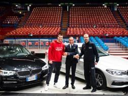Continua il sodalizio tra BMW e Armani basket