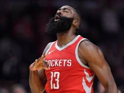 James Harden, colonna di Houston, è il favorito per il premio di mvp. Ap