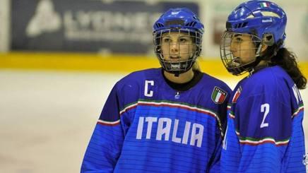 Carola Saletta, a sinistra, con Nadia Mattivi. Costa Ebech